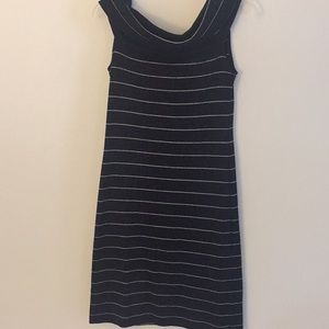 👗Lauren Black & Silver Dress - Size Small